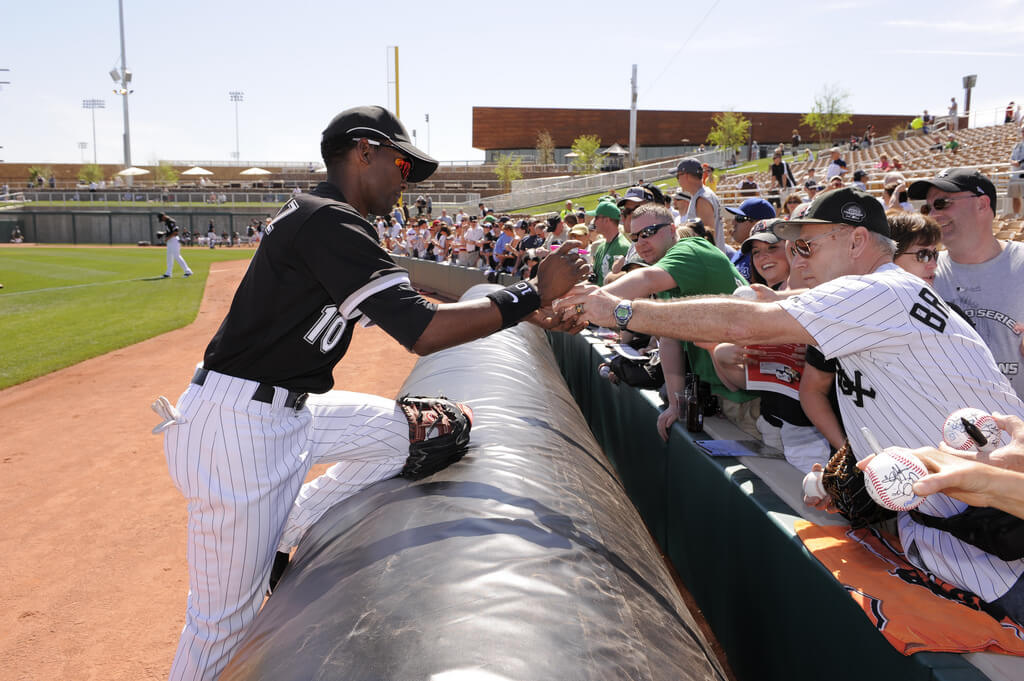 Chicago White Sox Spring Training autograph