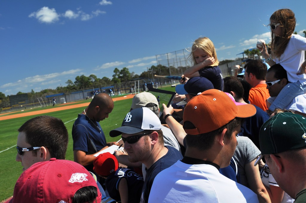 Tampa Bay Rays autographs