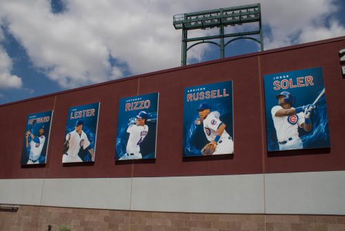 Sloan Park Chicago Cubs Spring Training baseball cards