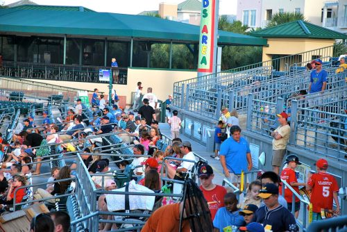 kids area Roger Dean Stadium