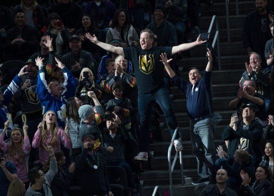 Vegas Golden Knights fan