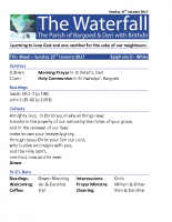 Waterfall for 15th January 2017