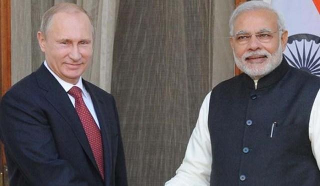 पुतिन के दौरे से पहले भारत ने रूस-पाक सैन्य अभ्'€à¤¯à¤¾à¤¸ पर जताई आपत्ति