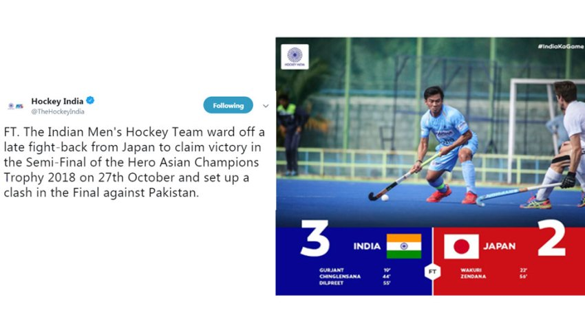 Asian champions trophy Ind vs Jap