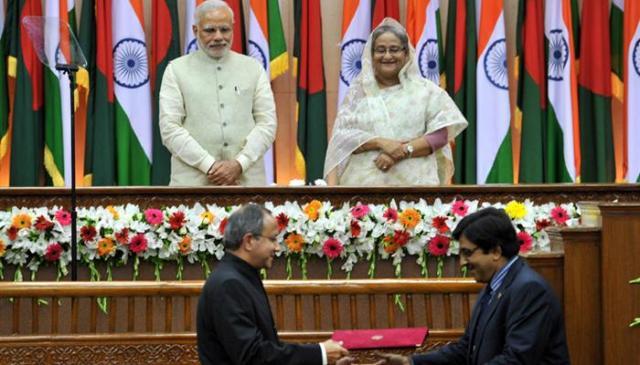 Image result for बांग्लादेश से सीमा विवाद खत्म
