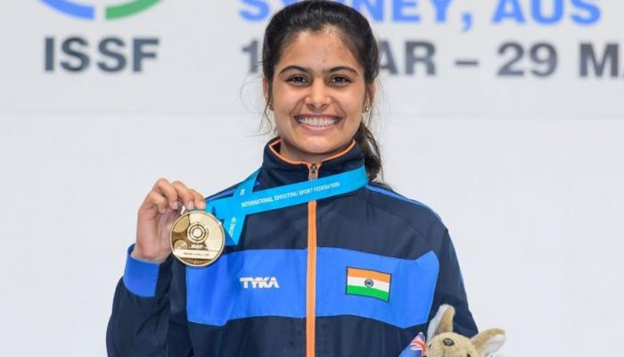Manu Bhaker india's new golder girl, win 5 gold in just 2 month