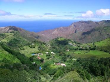 Sandy Bay from the Peaks, St Helena Island