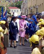 Anne, The Princess Royal, St Helena Island