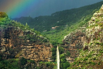 Heart Shaped Waterfall, St Helena Island