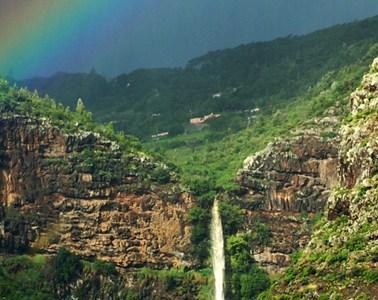 Heart Shaped Waterfall, St Helena Island