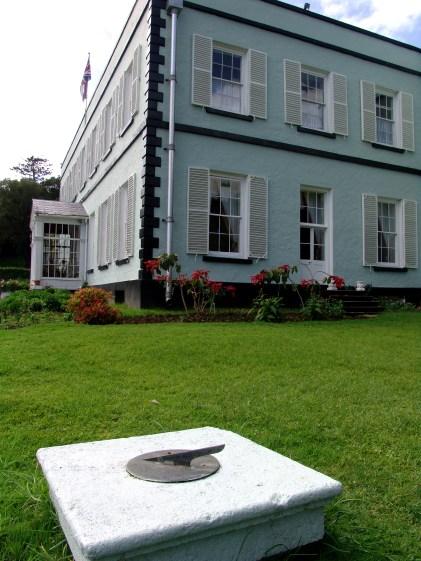 Plantation House clock, St Helena Island