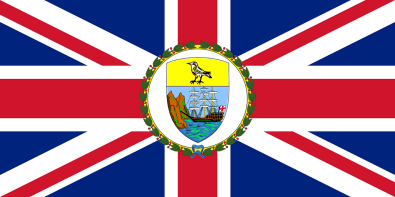 St Helena Governor flag
