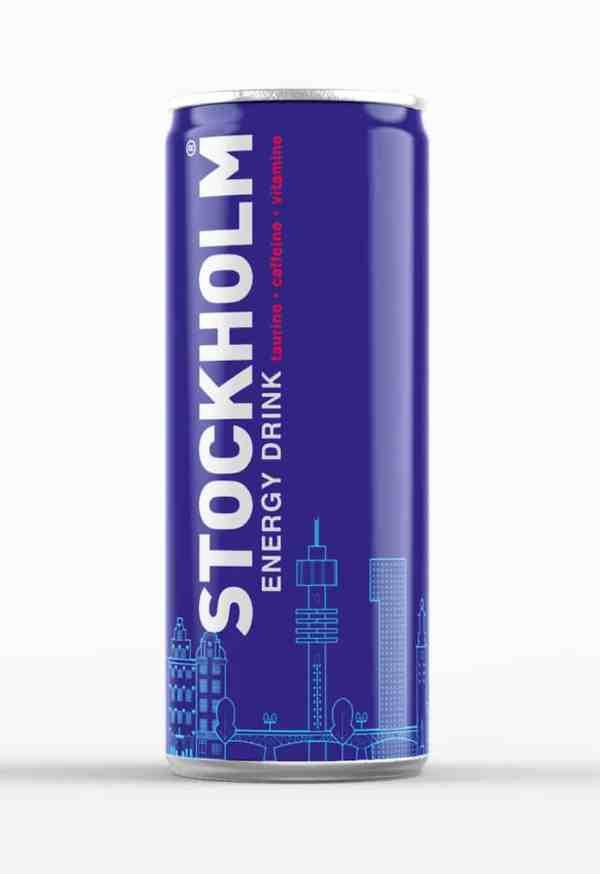 Stockholm energy drink