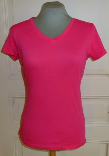 Shirt pink lang Bü