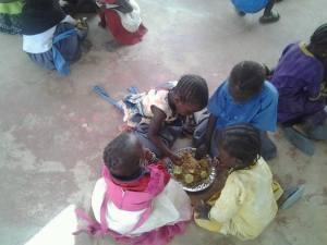 Stichting Care4Gambia, schoolmaaltijd