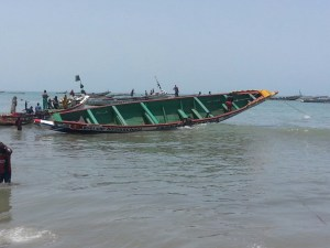 stichting care4gambia visserij gunjur
