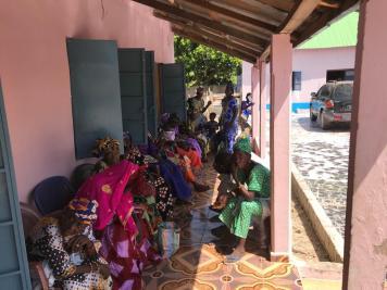 Ziekenhuis Kunting Gambia