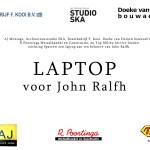 Laptop voor John Ralfh stichting Sparrow 5