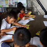 Activiteit basisschoolkinderen 2 stichting Sparrow