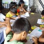 Activiteit basisschoolkinderen 3 stichting Sparrow