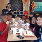 Feestje basisschool McDonalds 3 stichting Sparrow