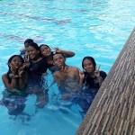 Zwemfeest einde schooljaar 2
