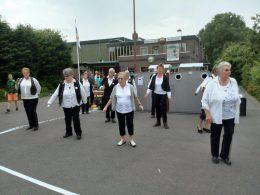 Optreden dansgroep