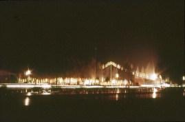 Hagfors Eldfesten från lägenheten 1968
