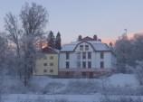 Huvudkontoret från herrgårdsparken