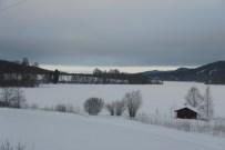 Från Norra Väsby - grått, men ljusare mot norr ...