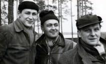 "Arne Berggren, Algot ""Tjalle"" Persson o Erik Eriksson"