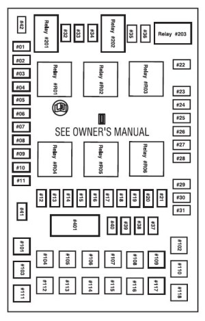 Fuse Box Diagram For 2005 Ford Freestar  Best Place to
