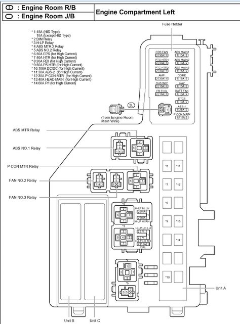 1999 Chrysler Sebring Distribution Fuse Box Diagram Free Download