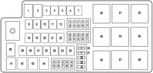 2011 Ford Fusion Fuse Box Diagram | Fuse Box And Wiring