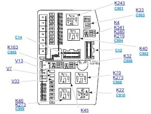 Ford Mondeo Mk3 Fuse Box Diagram | Fuse Box And Wiring Diagram