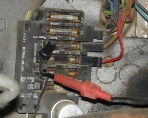 1965 Chevy C10 Pick Up Fuse Box | Fuse Box And Wiring Diagram