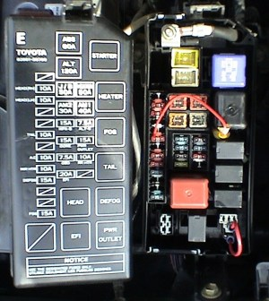 2000 Toyota Corolla Fuse Box | Fuse Box And Wiring Diagram