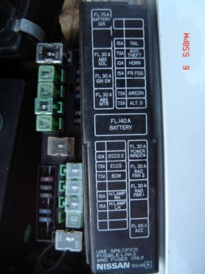 2001 Nissan Altima Fuse Box | Fuse Box And Wiring Diagram
