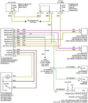 2003 Trailblazer Fuel Pump Wiring Diagram | Fuse Box And