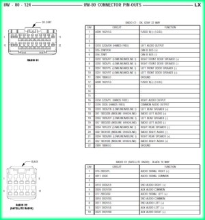 2005 Chrysler 300 Wiring Diagram Chrysler Wiring Diagram