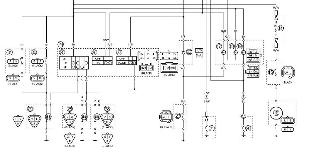 2005 yamaha yfz 450 wiring diagram 2005 free wiring diagrams inside 2006 yfz 450 wiring diagram?resize\=665%2C335\&ssl\=1 yamaha dt3 wiring diagram wiring diagrams Basic Electrical Wiring Diagrams at gsmportal.co