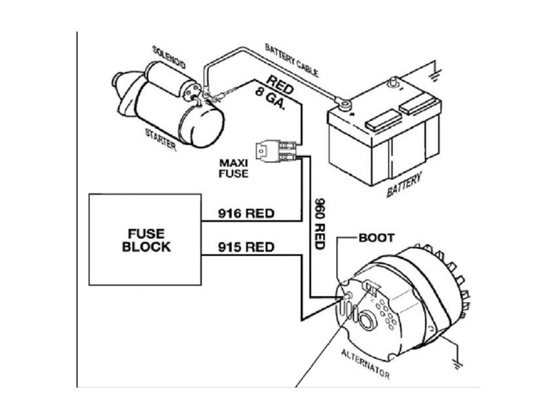 Gm 1 Wire Alternator Wiring Diagram: Charming 1 Wire Alternator Marine Pictures Inspiration ,Design