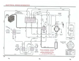 Murray Riding Lawn Mower Wiring Diagram   Fuse Box And