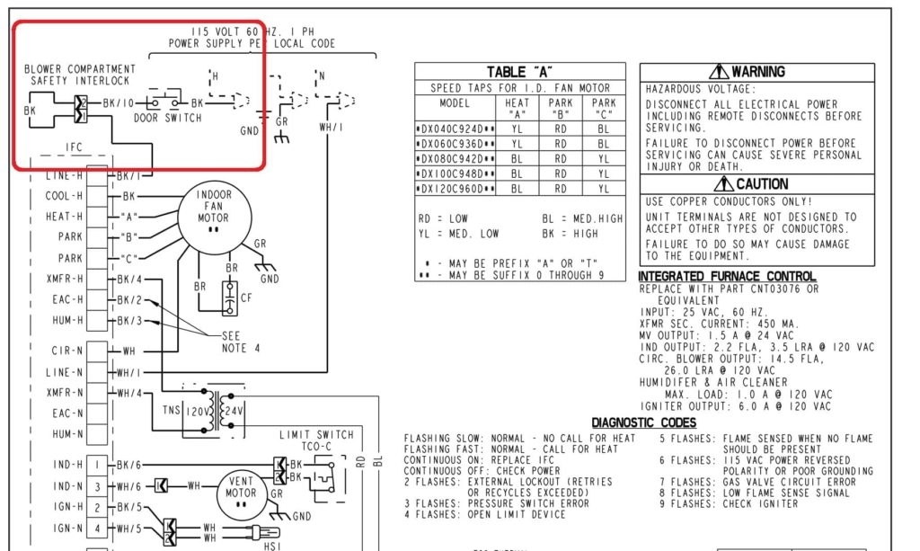 York 96 2 Stage Furnace Wiring Diagram - Dolgular.com