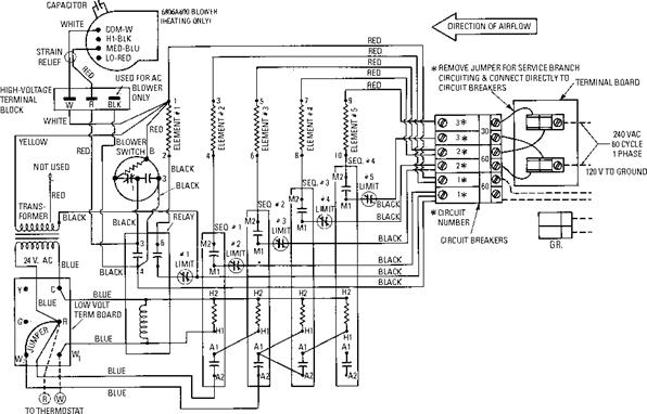 electric furnace wiring schematic   33 wiring diagram