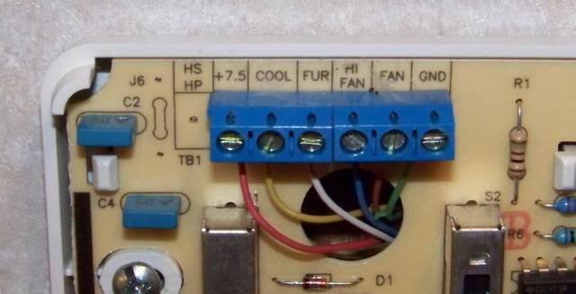 Hunter Thermostat Wiring Diagram : Hunter thermostat b troubleshooting