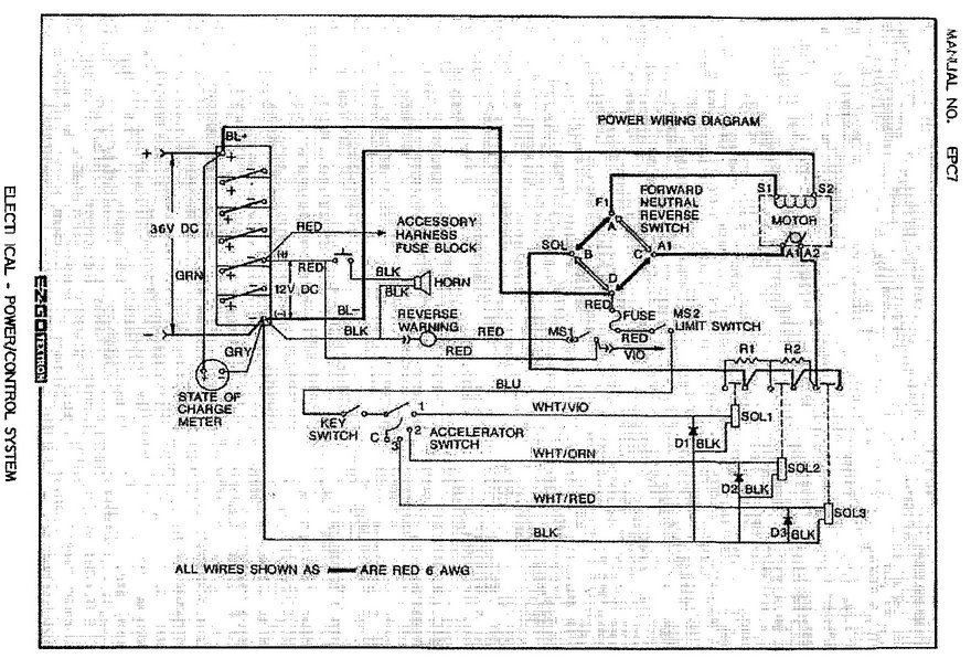 2003 Ezgo Gas Wiring Diagram Wiring Diagrams