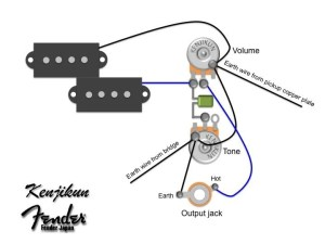 Fender Jazz Bass Wiring Diagram  Somurich