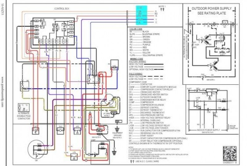Goodman Outdoor Thermostat Wiring