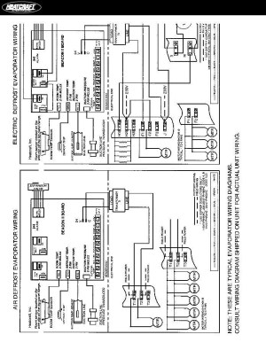 Heatcraft Freezer Wiring Diagram | Fuse Box And Wiring Diagram